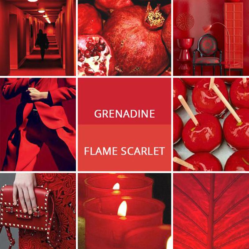 grenadine flame scarlet pantone