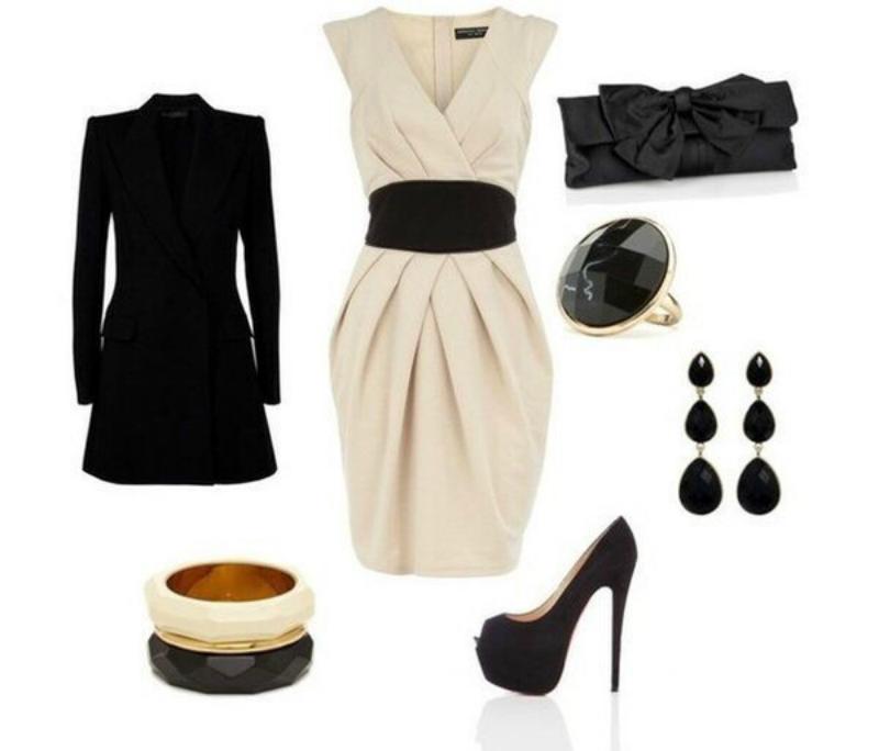 платье скрывающее живот и бока