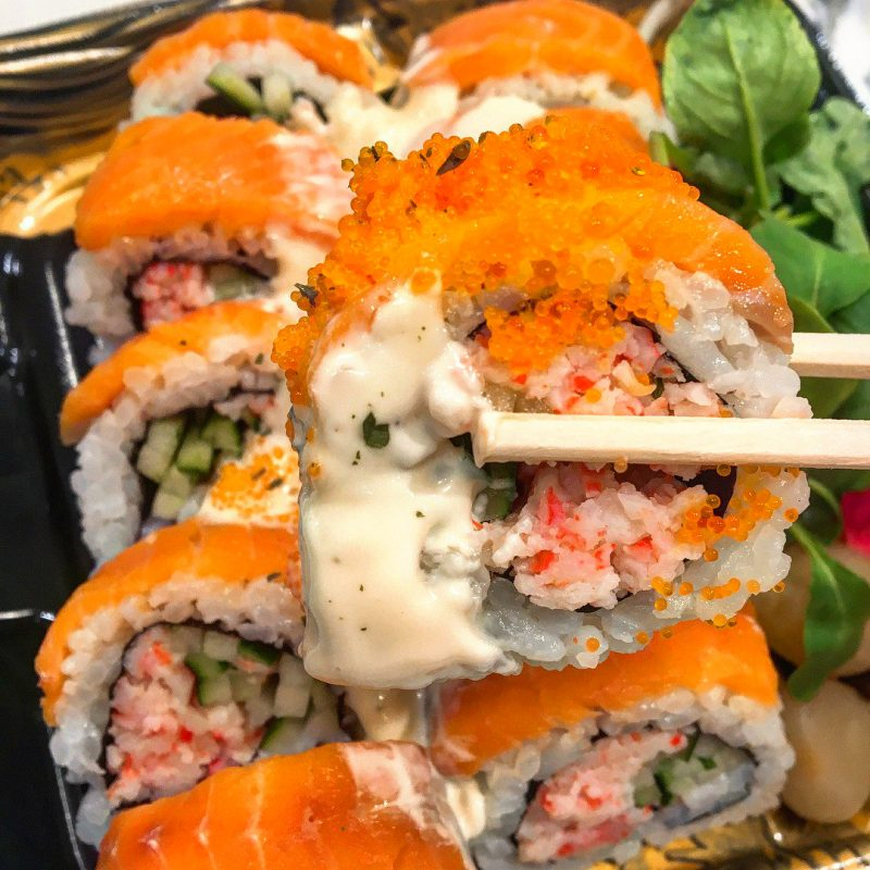 как правильно сврить рис для суши и роллов