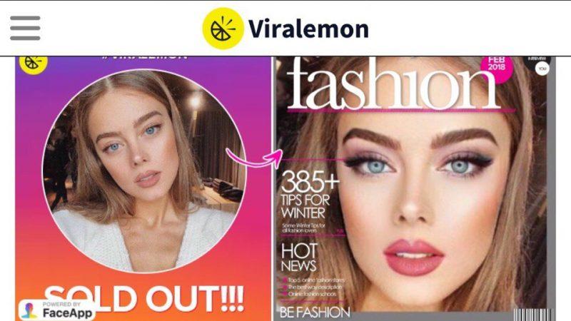 Как сделать свое фото на обложке журнала