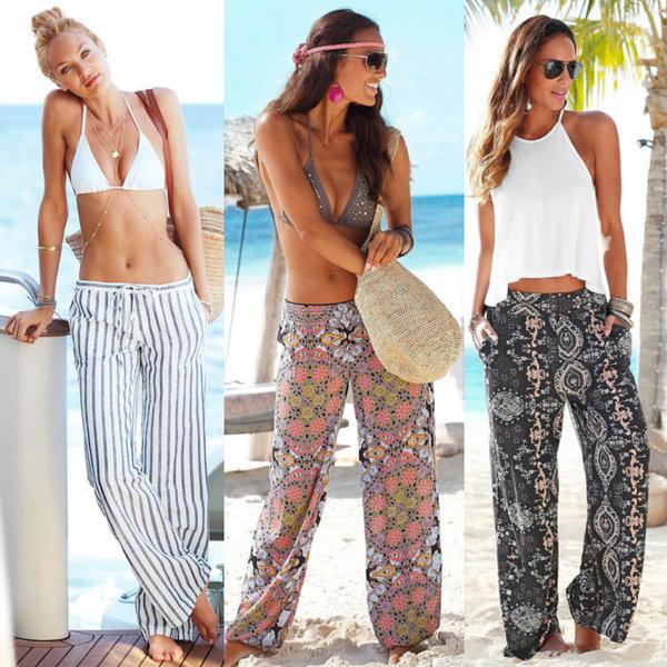 пляжная мода 2018