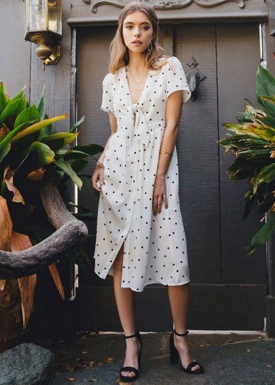 модные платья на лето 2018 года
