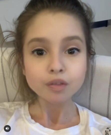 Фильтр на фото с детским лицом для инстаграма