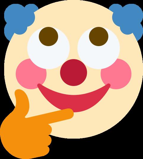 маска клоуна для инстаграма