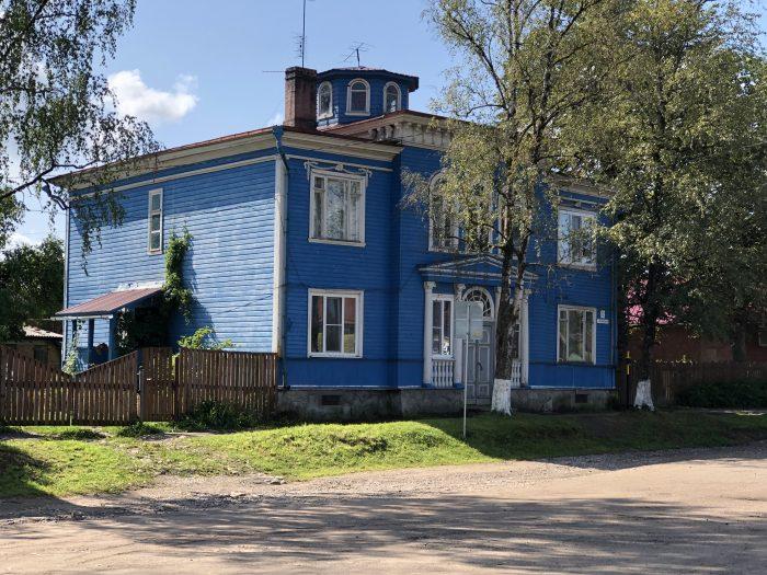 дом особняк русакова печоры