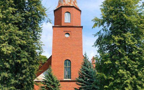 лютеранская церковь кирха печоры