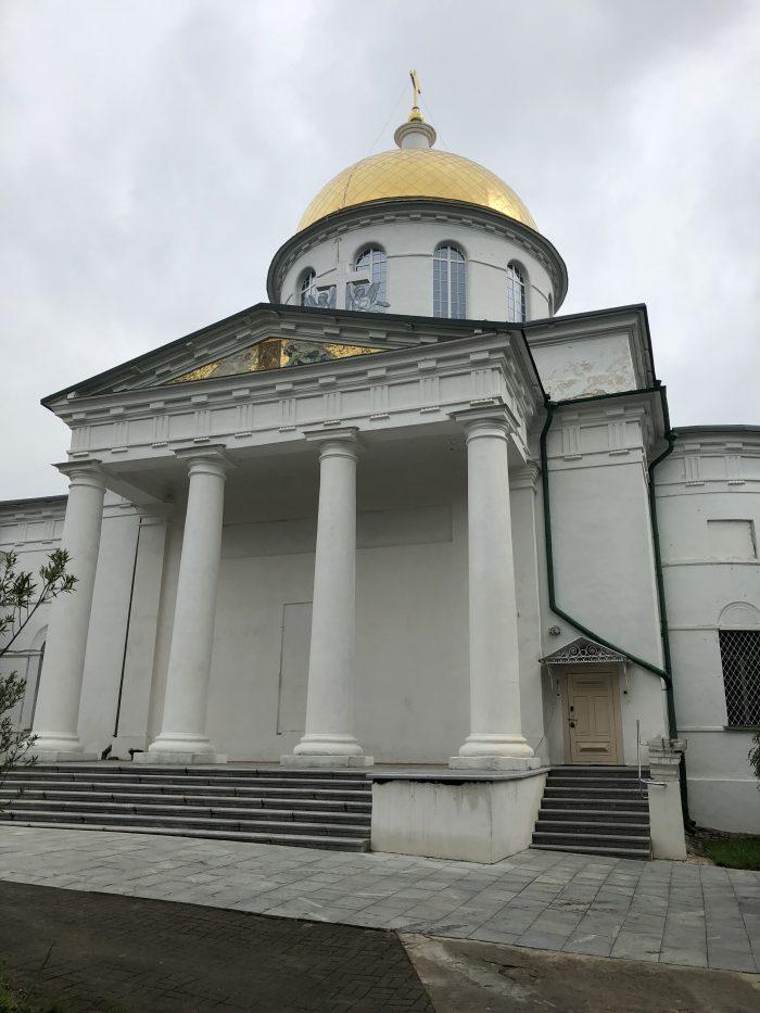 михайловский собор печоры
