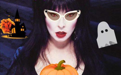 маски и приложения на хэллоуин