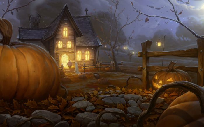 заставка на хэллоуин