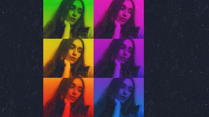Как сделать эффект три цветные фото друг над другом