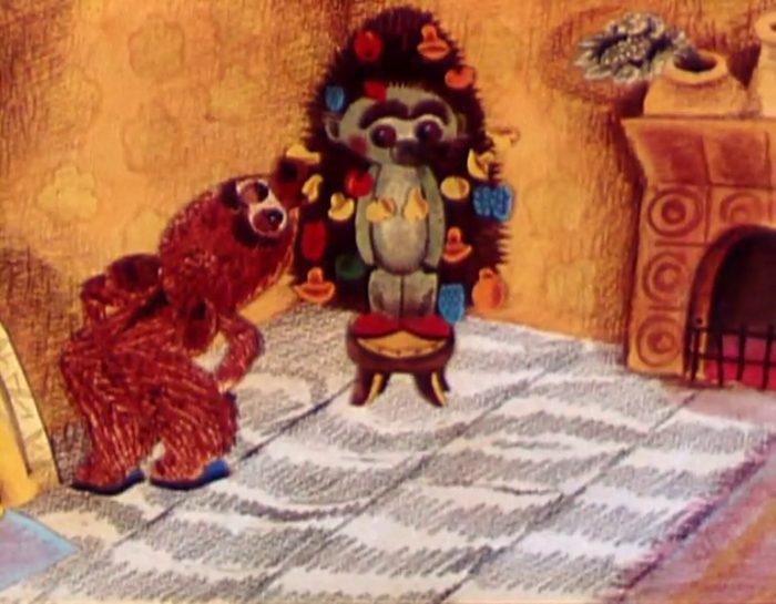 Как ёжик и медвежонок встречали Рождество (1975 год)