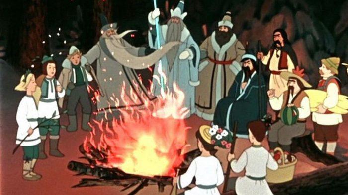 советский мультфильм на новый год