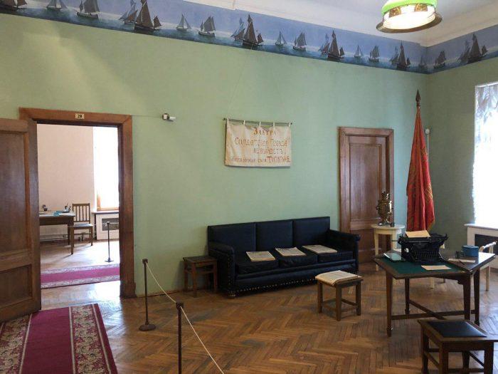 кабинет ленина в доме кшесинской