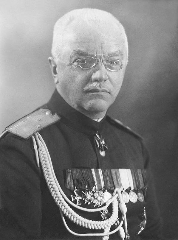 Алексей Павлович Будберг белогвардеец
