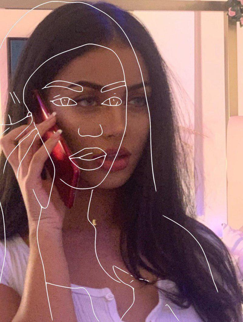 Как сделать силуэт на фото
