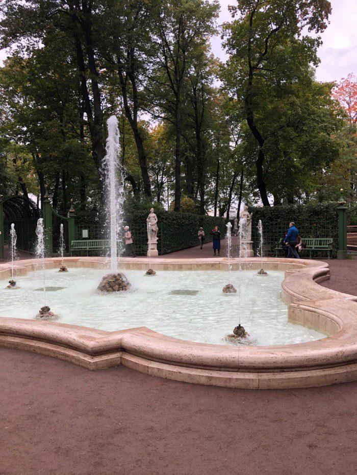 фонтаны санкт петербург