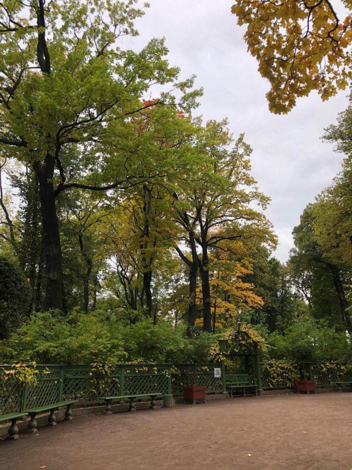 Летний сад в Санкт-Петербурге
