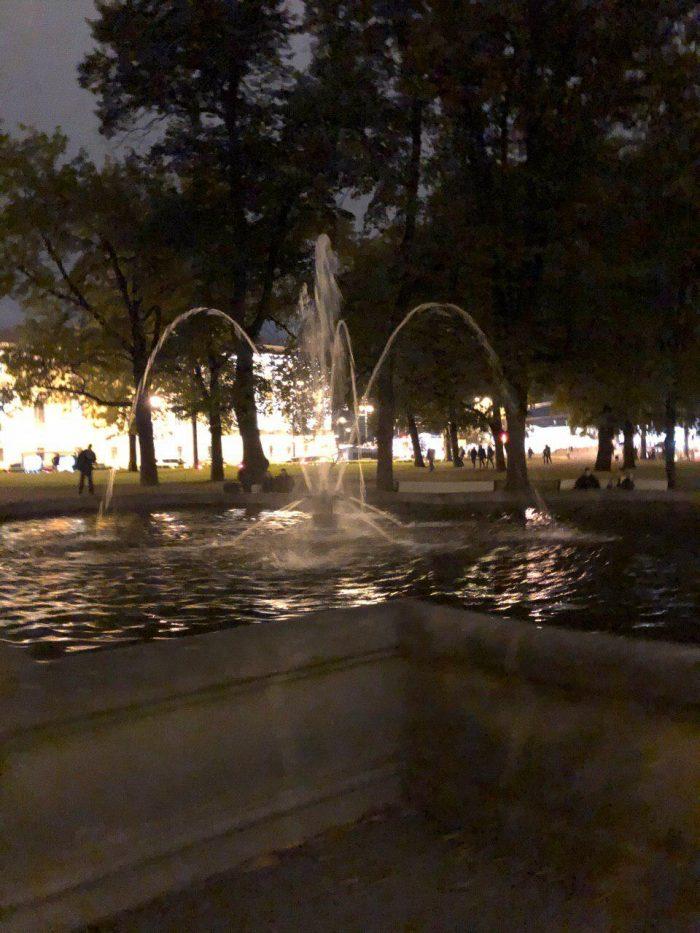 Сад Зимнего Эрмитажа