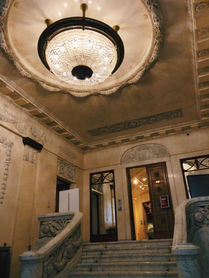 особняк Бранта парадный вестибюль