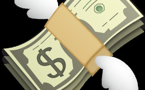 Маска Деньги на лице в инстаграме