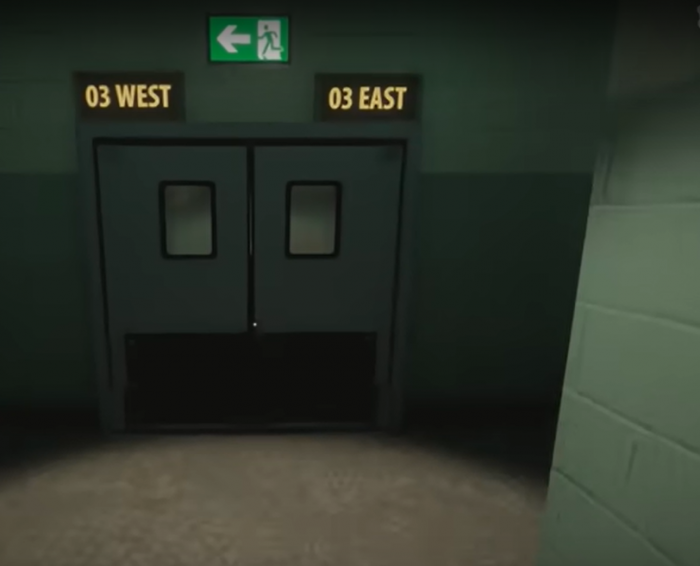 Как пройти уровень с дверями EAST WEAST в Superliminal