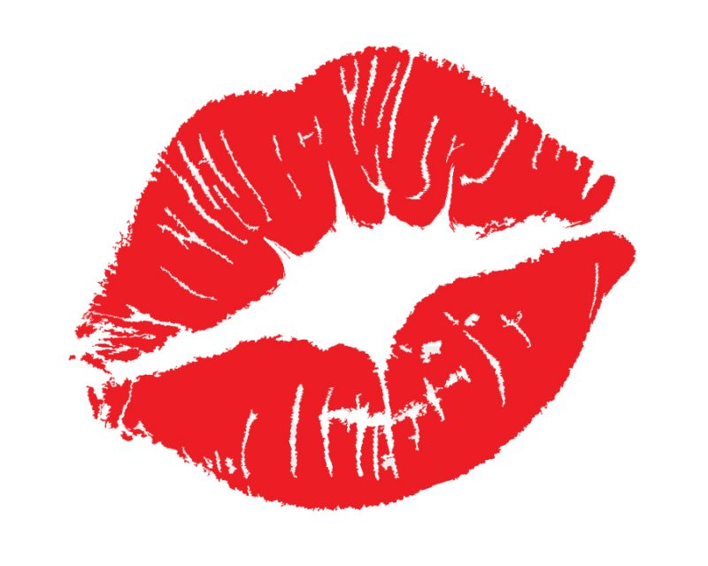 Маска с поцелуями в инстаграме