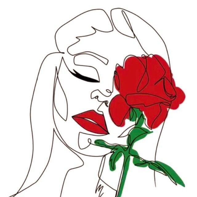 Маска с розами в инстаграме