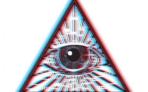 Маска с глазами в инстаграме