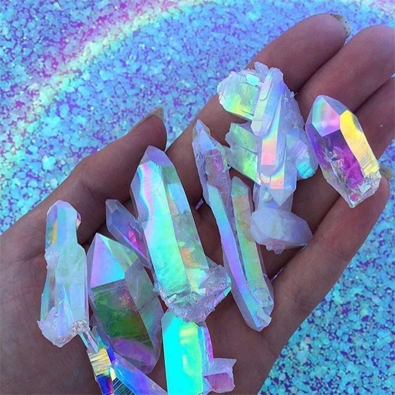Маски с кристаллами в инстаграме