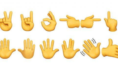 Челлендж с жестами в инстаграме