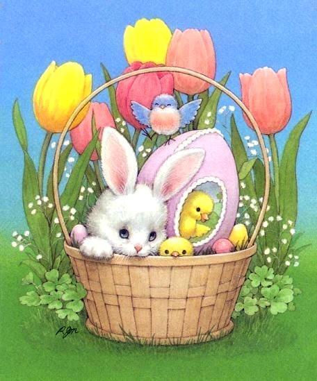 открытки пасхальные с кроликами этом тебе помогут