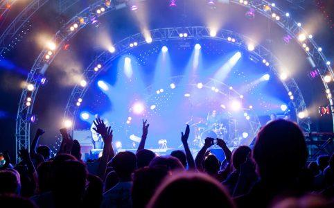 как создать эффект концерта