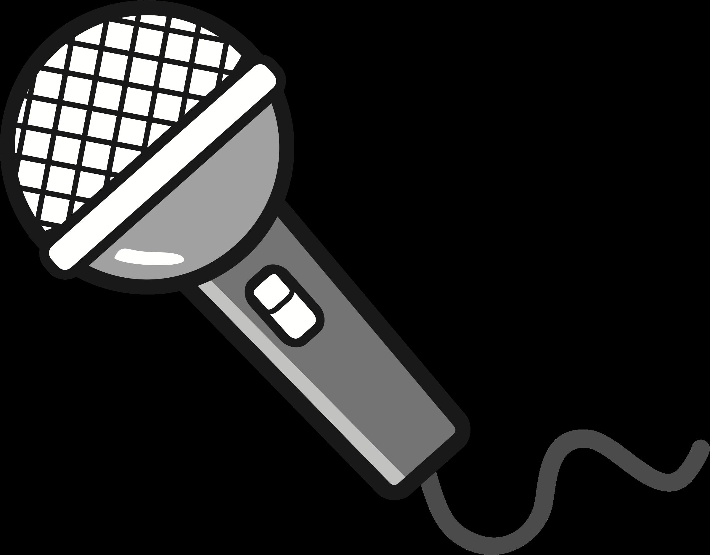 Мультяшные картинки микрофона