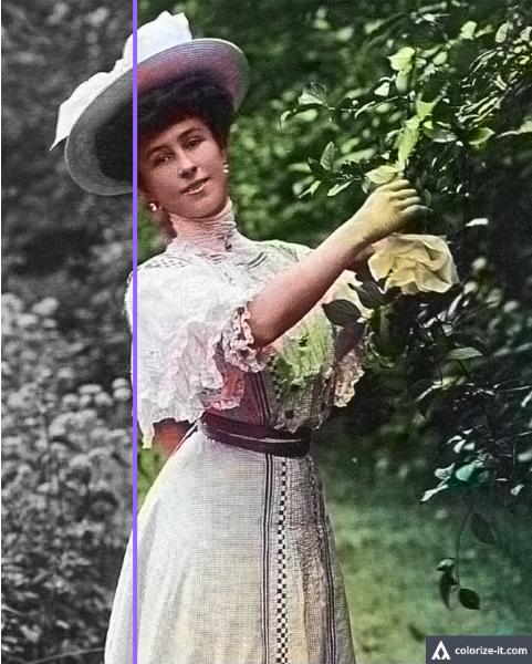 Как раскрасить старое фото