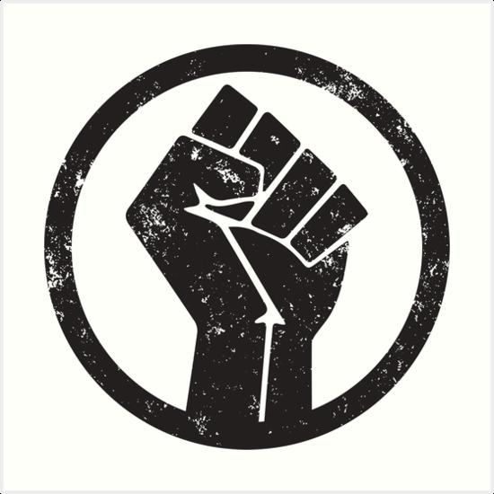Маска Black Lives Matter в инстаграме