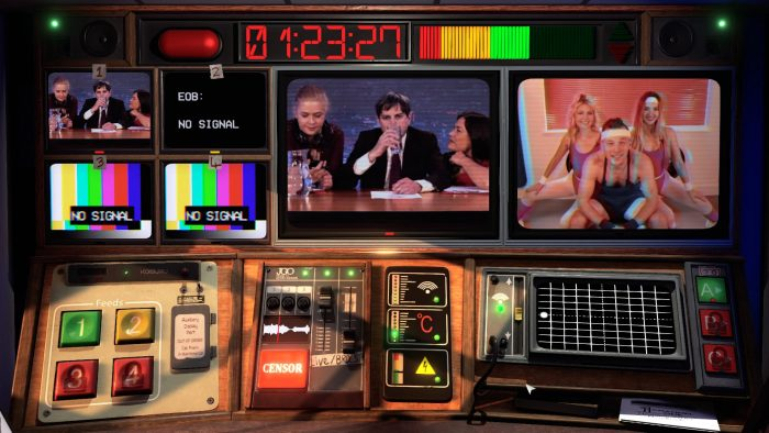 игра Not for Broadcast