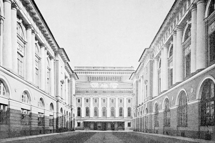 императорская балетная школа ретро старые фото