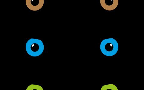 Эффект Цветные линзы в ТикТок
