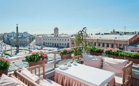 Открытые террасы в Санкт-Петербурге
