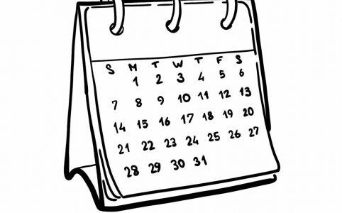 Календарь историй в Инстаграме