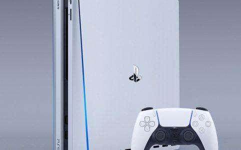 Маска с коробкой PlayStation в инстаграме