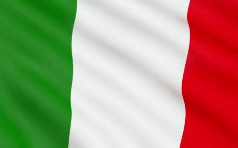 Маска в инстаграме Итальянский флаг
