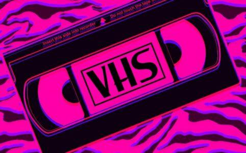 Эффект VHS в ТикТоке