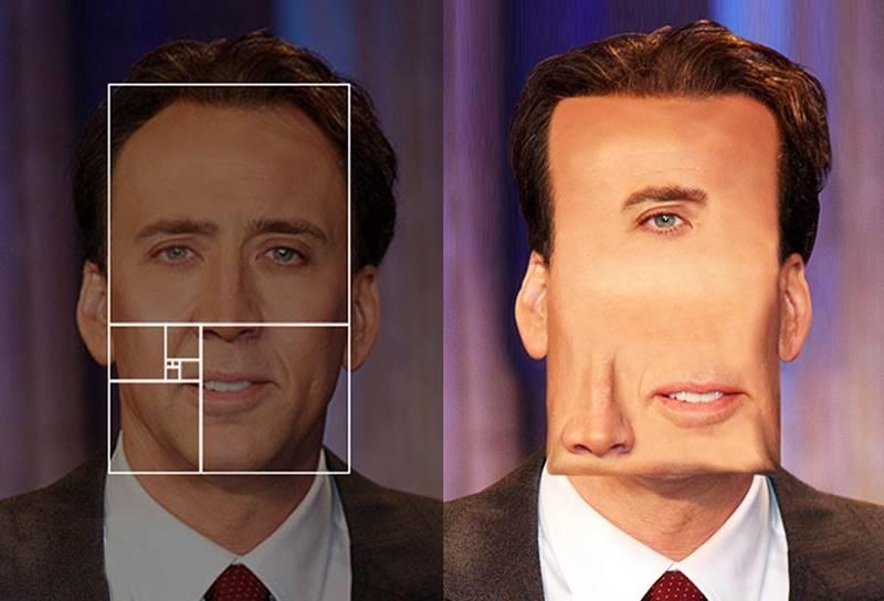 Эффект Симметрия лица