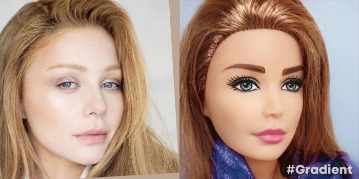 Приложение превращает в Барби