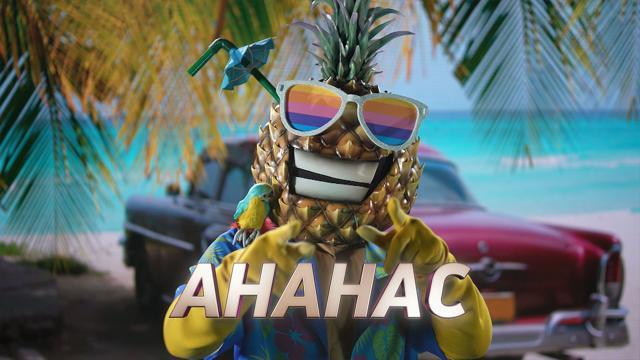 шоу маска ананас