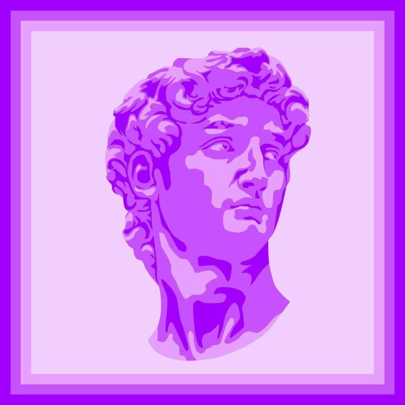 Эффект статуя Давида в ТикТоке