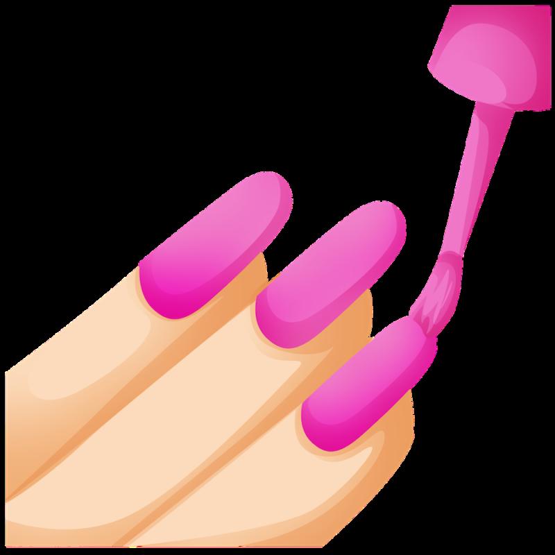 Эффект с длинными ногтями в ТикТоке