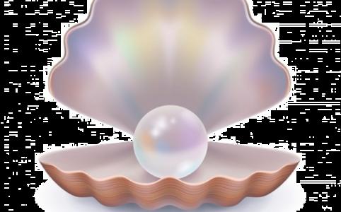 Маска с жемчужной рамкой в ТикТоке