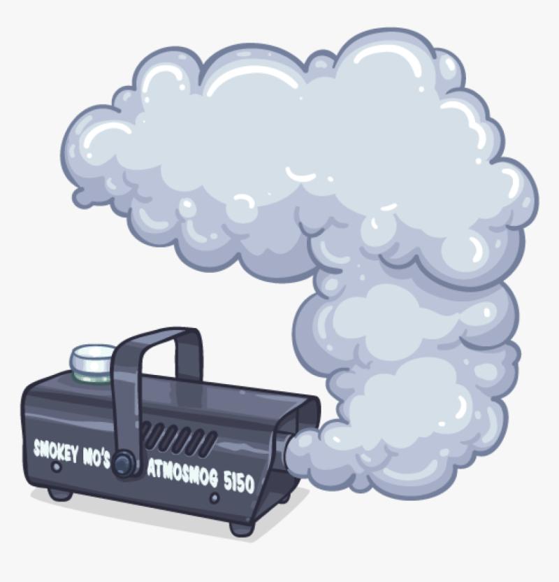 Эффект с исчезающим дымом в ТикТоке для переходов